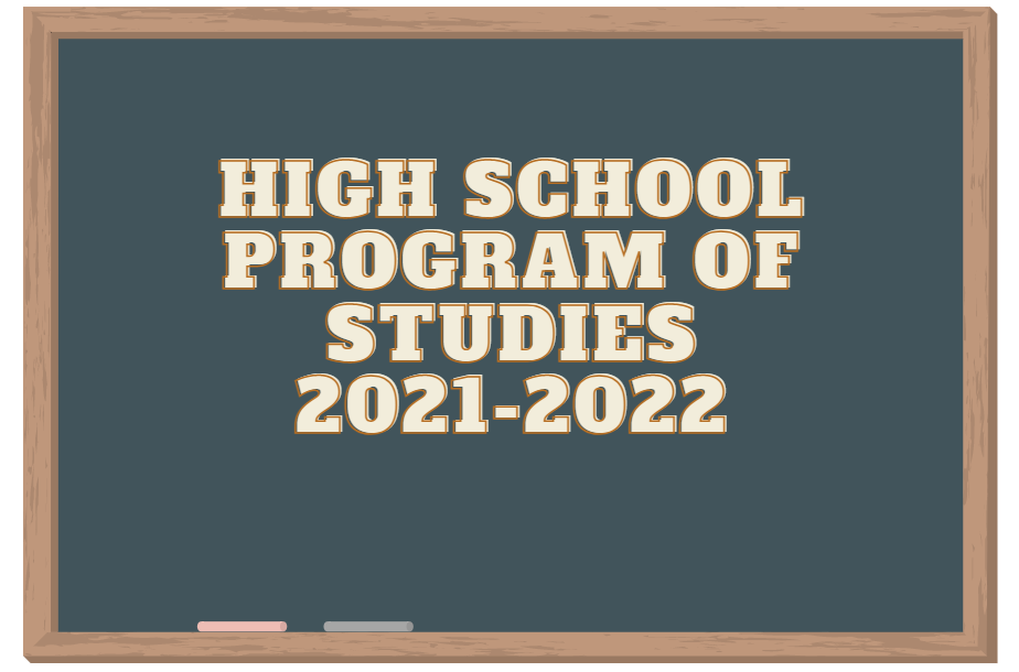 High School Program of Studies 21-22