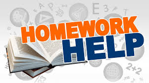 open book that says homework help